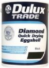 Dulux Trade Diamond Quick Dry Eggshell Black 5 Litre